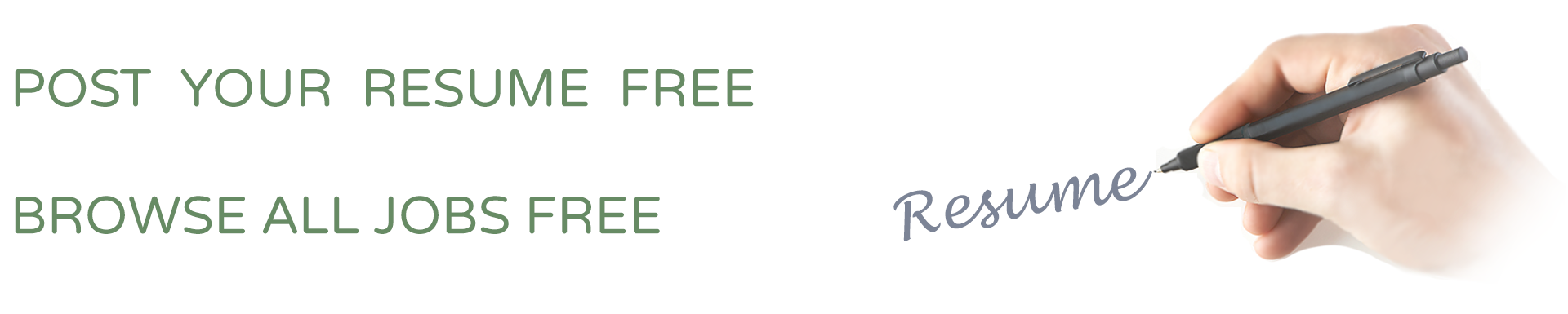 post resume free